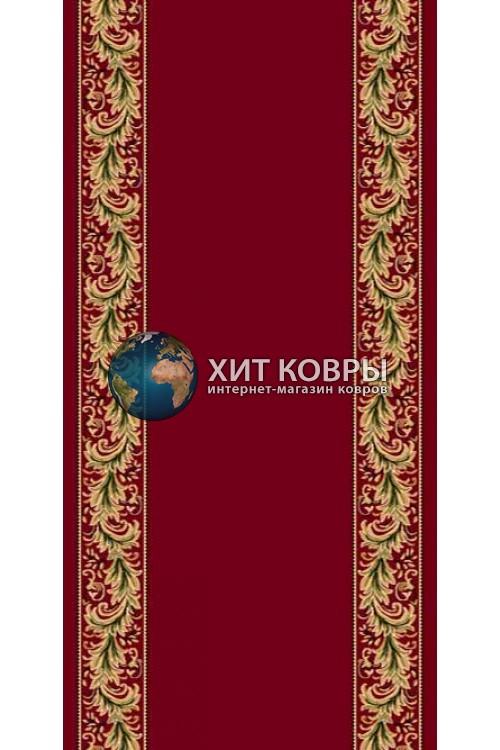 ковер в комнату кремлевский d044 красный