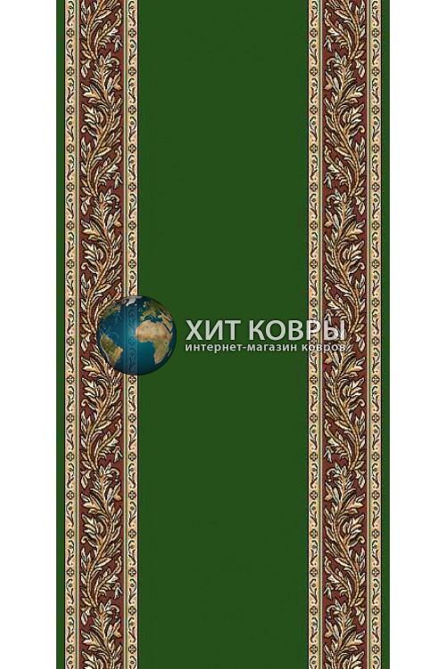 ковер в комнату Кремлевка d041 зеленый